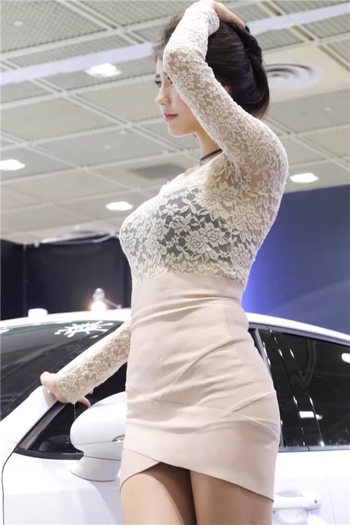 韩国性感模特精选饭拍21076