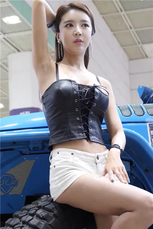 韩国性感模特精选饭拍21078