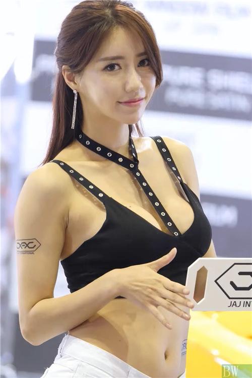 韩国性感模特精选饭拍21082