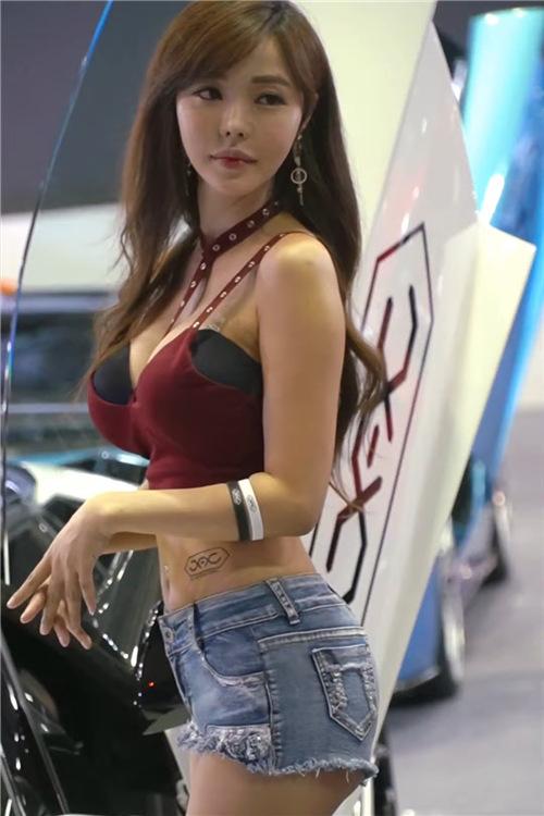 韩国性感模特精选饭拍21090