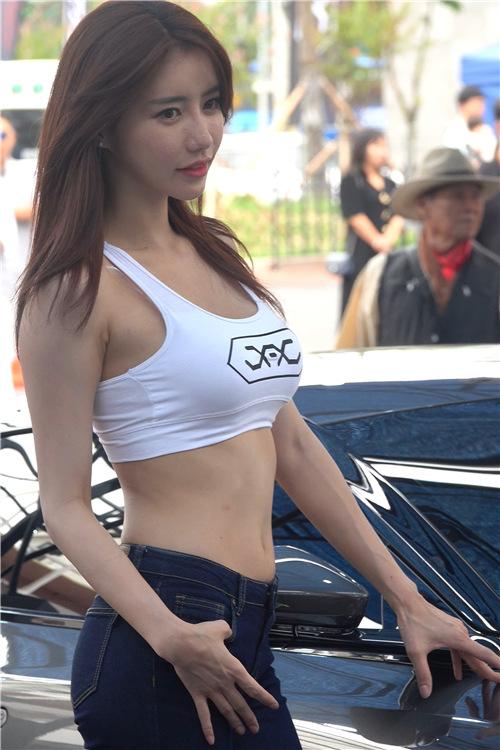 韩国性感模特精选饭拍2021214